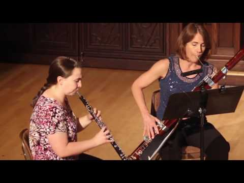 Cassazione Quartet for Oboe, Clarinet, Bassoon and Horn (Rev. Albert J. Andraud) - Mozart