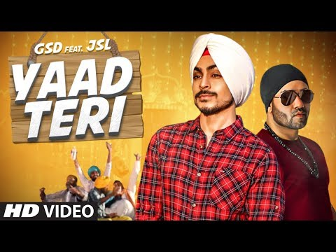 Yaad Teri Full Video Song - GSD | Yaad Teri Mp3 Song