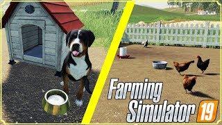 ANTEPRIMA FARMING SIMULATOR 19 #3 - CUCCIA CANE E RECINTO GALLINE - GAMEPLAY ITA