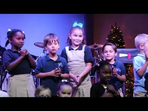 Naples Christian Academy Kindergarten Christmas Songs 2018