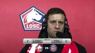 VIDEO: LOSC - TFC : Suivez la 1è période en direct avec les commentaires de Mickael Foor !