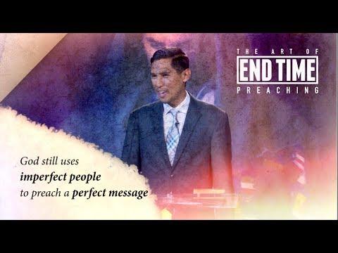 The Art of End Time Preaching Seminar Coming Soon | Taj Pacleb