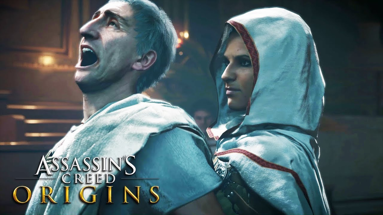 Assassin's Creed Origins All Deaths & Ending - YouTube