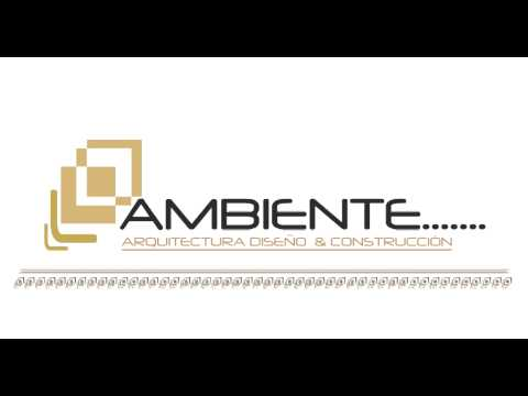 Animaci n logotipo ambiente arquitectura dise o y for Arquitectura diseno y construccion