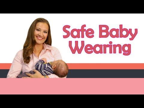 BABY CARRIERS AND SAFE BABY WEARING |  Baby Care With Jenni June