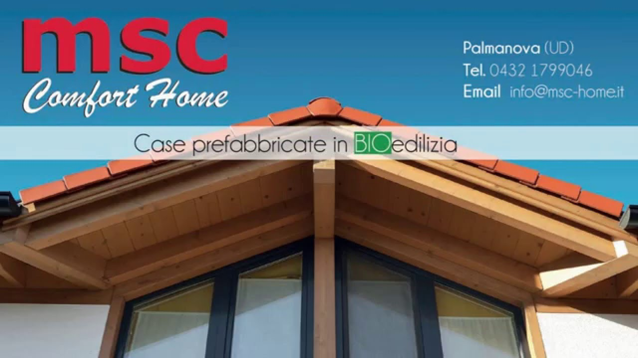 Msc case prefabbricate palmanova esterni youtube for Youtube case prefabbricate