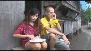 Eric and Cathy discus a problem in Polo Tanjay Negros
