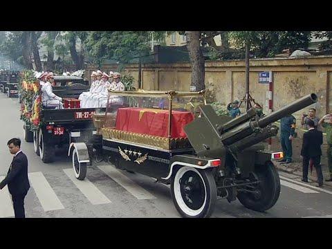 Lễ truy điệu nguyên Chủ tịch nước – Đại tướng Lê Đức Anh | Truyền hình trực tiếp