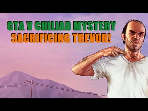 New Chiliad Mystery Video, Sacrificing Trevor! Link In the Description - GTA 5 Jetpack Hunter