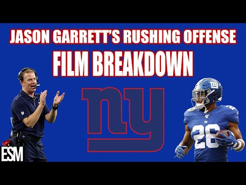 NY Giants: Jason Garrett's Rushing Offense (FILM BREAKDOWN)