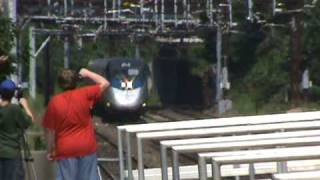 Acela Express 2165 Puts On FOUR SHAVE AND A HAIRCUTS at Southport - 8/11/2010