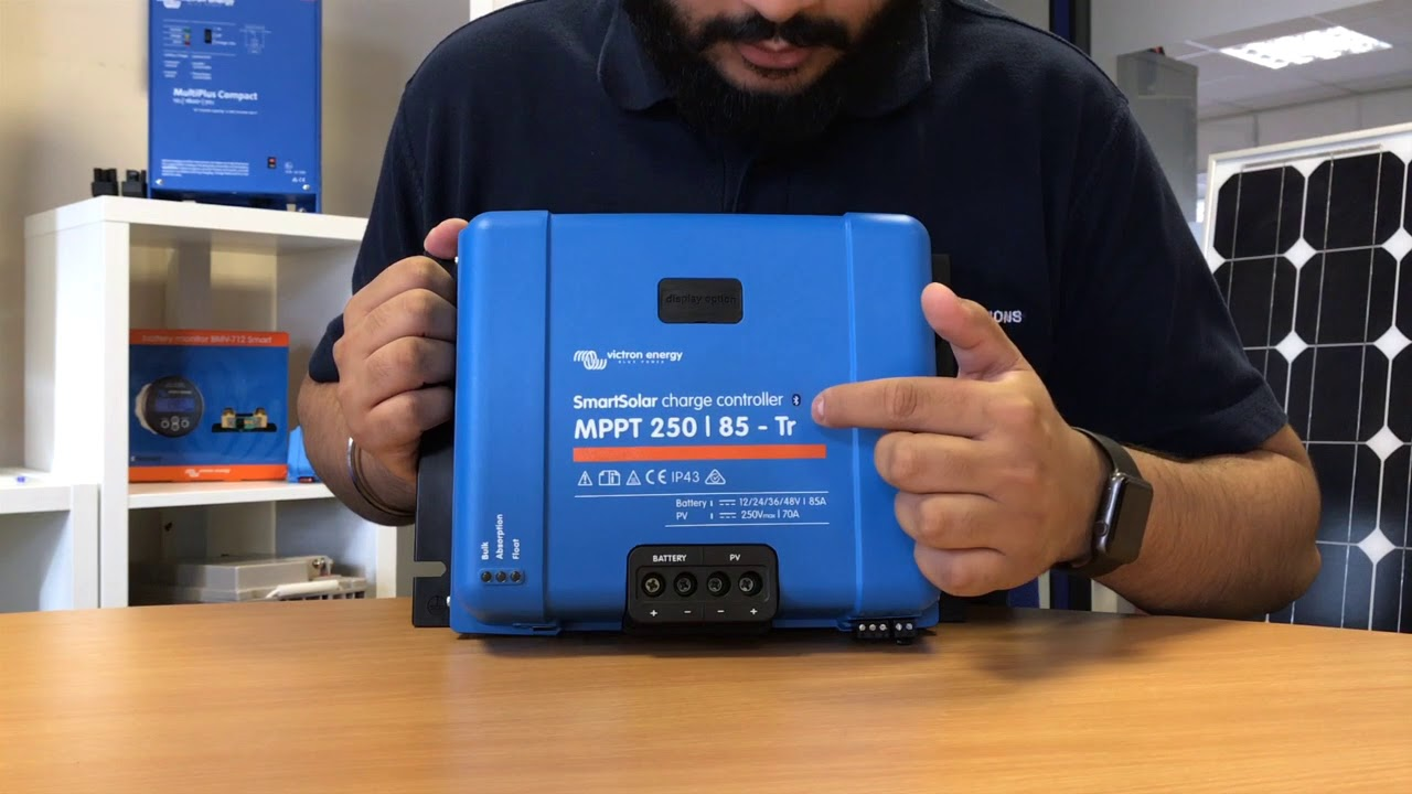 Victron Energy SmartSolar Pluggable Control Display