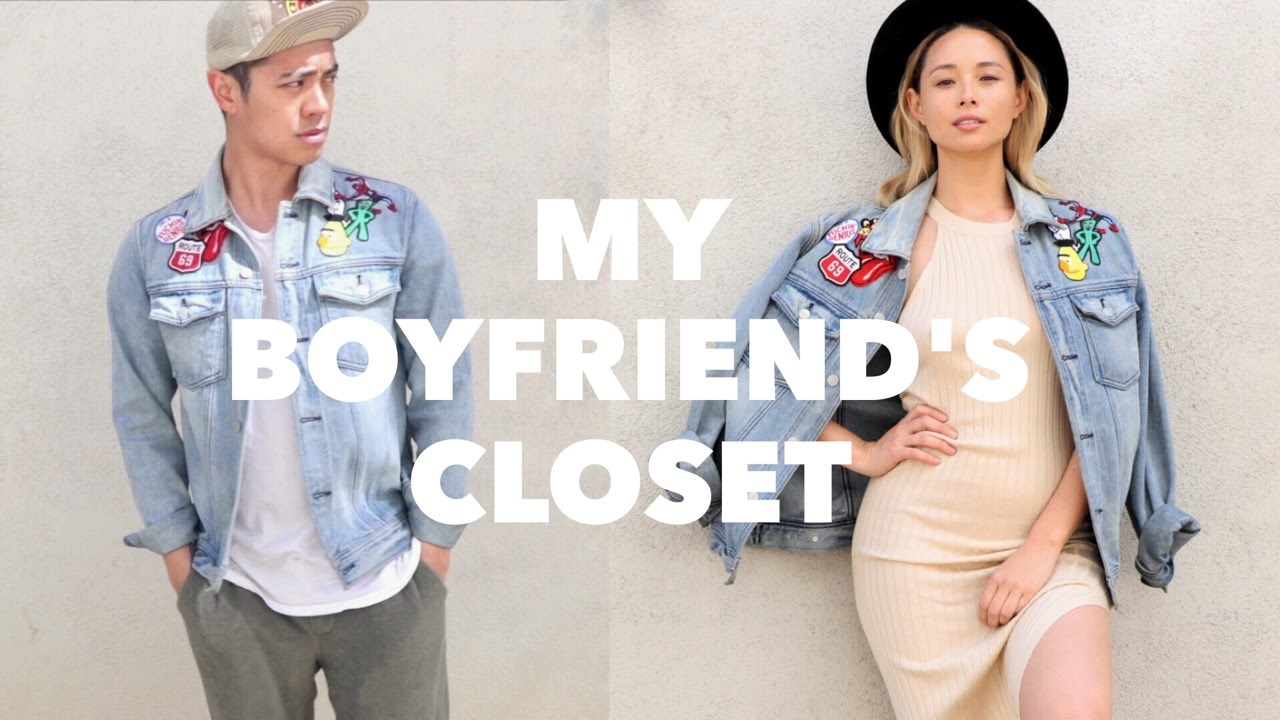 My Boyfriend's Closet ft. Brian Puspos | Aja Dang - YouTube