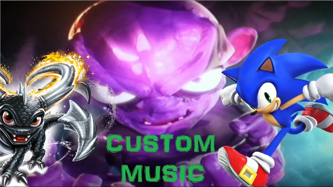 skylanders swap force super evil kaos battle w custom