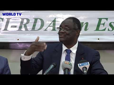 PDCI-RDA: Les temps forts de la conférence de Presse de Kakou Guikahué du 12 octobre 2018