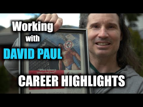 When I Worked with the BARBARIAN BROTHER, David Paul