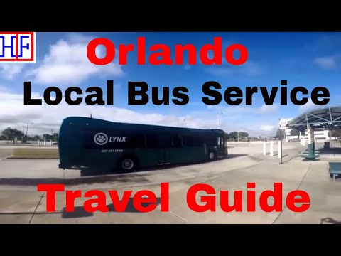 Orlando | Local Bus Services - Getting Around | Travel Guide | Episode# 2