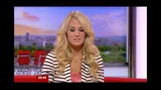 CARRIE UNDERWOOD - BREAKFAST TV INTERVIEW & PERFORMANCE OF BLOWN AWAY