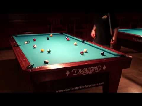 Golden Fleece Billiards Has Beautiful Diamond Tables YouTube - 9ft diamond pool table