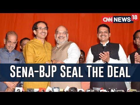 Lok Sabha Alliance Sealed, BJP To Fight On 25 Seats, Shiv Sena On 23 | Faceoff With Zakka Jacob