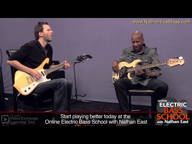 Nathan East & Paul Gilbert: One Chord Challenge at ArtistWorks