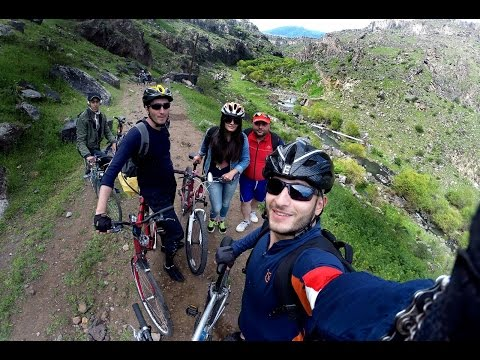 Cycling, Trip To Ara Ler (26.04.2015), Armenia (GoPro) HD