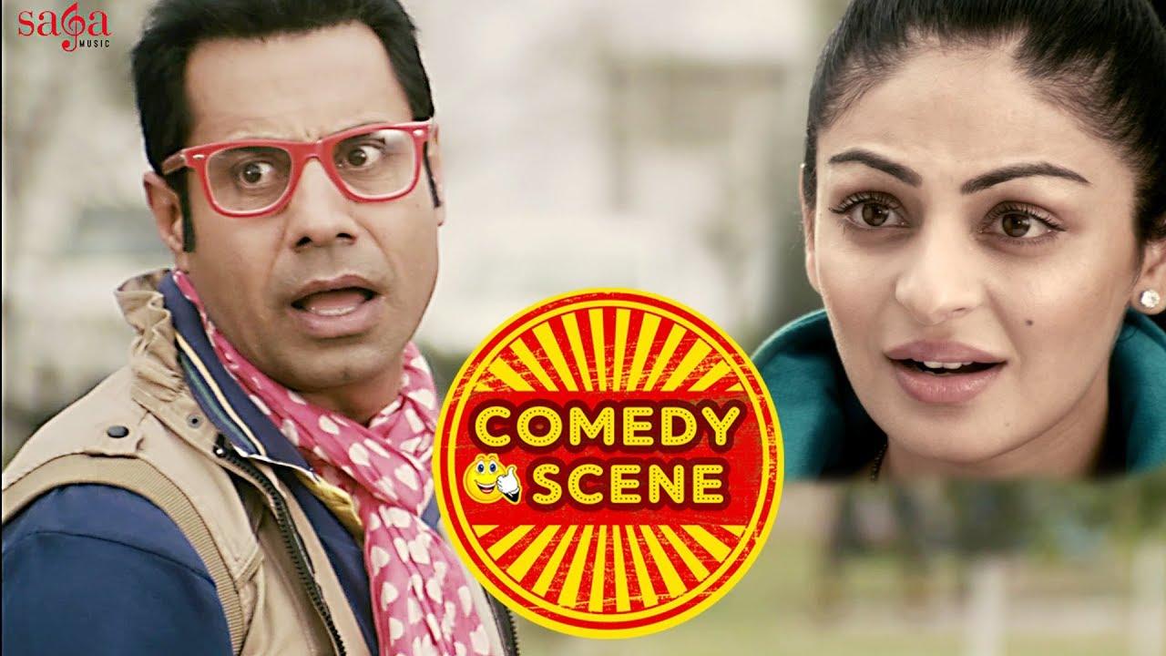 Download Binnu Dhillon & Neeru Bajwa New Comedy Scene (MUST WATCH) | Karamjit Anmol | Latest Funny Scene 2018