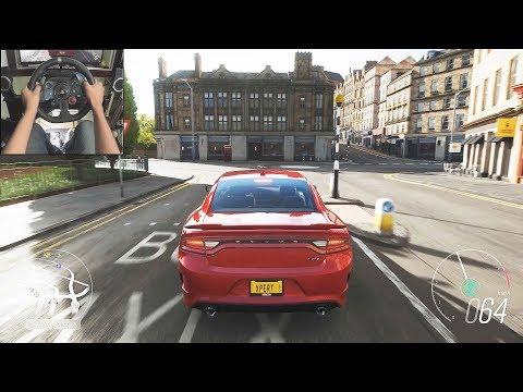 Dodge Charger SRT Hellcat - Forza Horizon 4 | Logitech g29 gameplay thumbnail