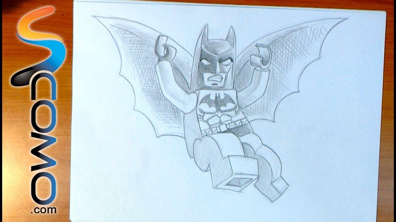 Dibujar al Batman Lego - YouTube