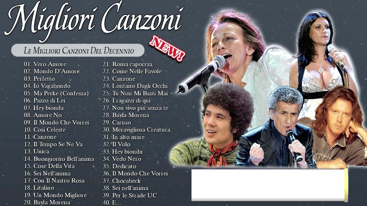 LE PIU' BELLE CANZONI ITALIANE ANNI 70 80 90 - Musica italiana anni 70 80 90 i migliori