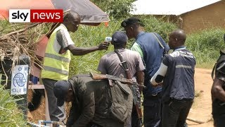 Authorities struggling to contain the ebola outbreak in democratic republic of congo fear virus is about hit a major city - with possible devastat...
