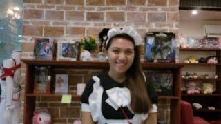 The Most Beautiful Maid Cafe (メイド喫茶 / メイドカフ)- Cos Cafe-Cebu....English Subtitle