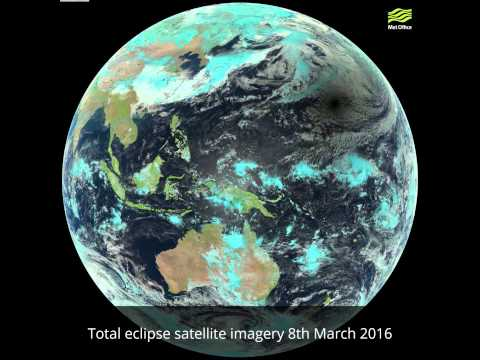 Total eclipse satellite imagery - 8th March 2016
