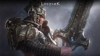 LOST ARK Berserker Skills Gameplay Trailer - 로스트아크 클래스 소개 버서커