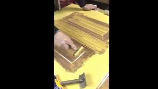 A Wood Grain Tool Can Make Wonders If They Are In The Right Persons Hands. Owner, Bart Mcgee