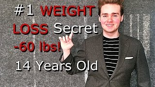 #1 WEIGHT LOSS Secret | TEEN INSPIRATIONAL Journey | -60 lbs 14 Years Old