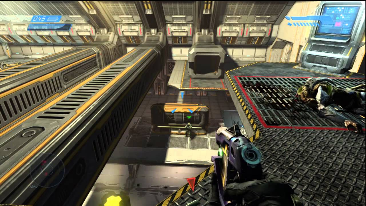 HALO Anniversary Legendary Mission 10 The Maw. 2 Players Xbox Live 1080p.