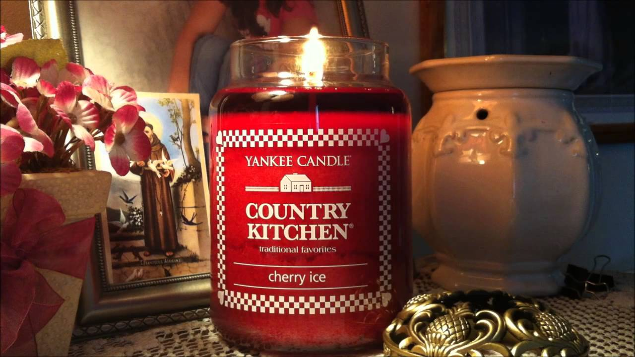 Yankee Candle Cherry Ice Country Kitchen Review