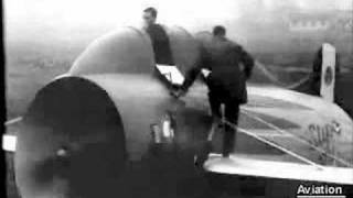 Stipa-Caproni Flying Barrel (take-off footage only)