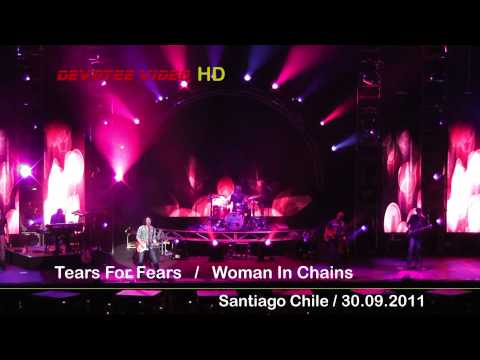 Tears For Fears /  Woman In Chains / Santiago Chile [Full HD 1080p]