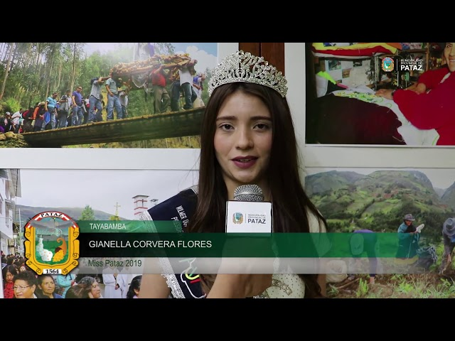 Miss Pataz 2019