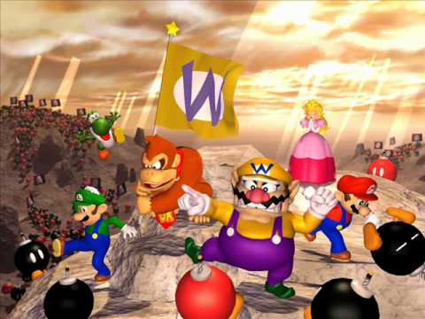 Mario Party Music Wario S Battle Canyon Extended Youtube