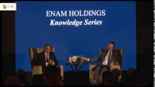 Howard Marks interacts with FLAME students at a value investing knowledge series