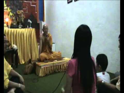Hokkien Dhamma Discussion At Medan 福建佛法开示 (2/5)