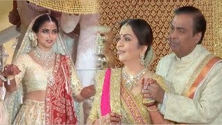 Legendary Singer Lata Mangeshhkar's Special Tribute of गायत्री मंत्र @Isha Ambani MARRIAGE Ceremony
