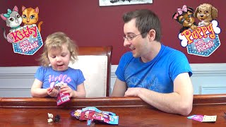 Genevieve Opens Puppy & Kitty in My Pocket Blind Bags!