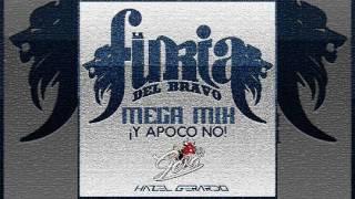Mega Mix La Furia Del Bravo - Gera Dj (2017)