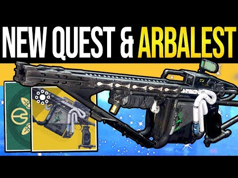 Destiny 2 | ARBALEST FOUND & NEW EVENT QUESTS! Exotic Bounties, New Currency, Loot & Bungie Responds thumbnail