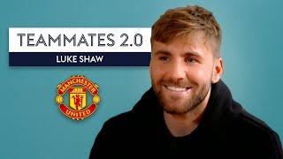 """Zlatan rinsed me for weeks when Pogba nutmegged me!"" | Luke Shaw | Man Utd Teammates 2.0"