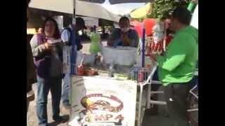 Disfrute de los deliciosos tacos de canasta en Tlaxcala, La Feria